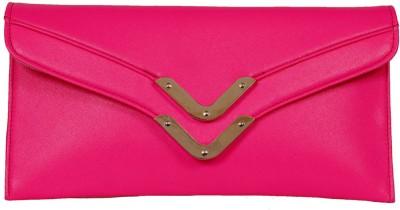 Russo Fashion Women Casual Pink  Clutch