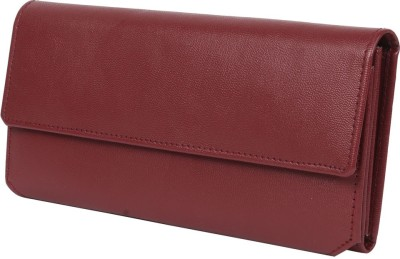 Heels And Toes Casual Maroon  Clutch