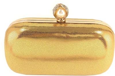 Anmita Wedding, Party, Festive Gold  Clutch