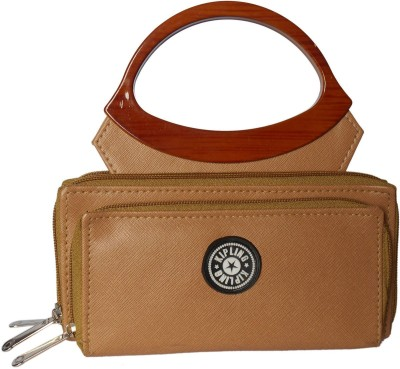 Racial Women Formal Brown  Clutch