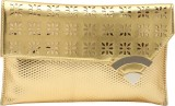 Dice Women Party Gold  Clutch