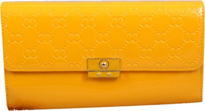 Alishaan Casual, Party, Formal Yellow  Clutch