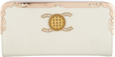 Fristo Women Casual White  Clutch