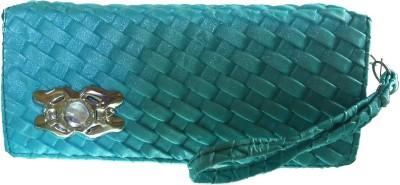 Modish Look Casual Blue  Clutch