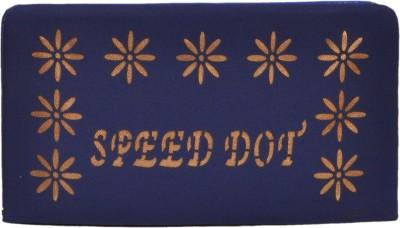 Speed Dot Blue  Clutch