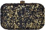 Glitter Accessories Women Black  Clutch