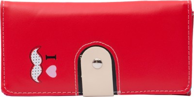 MARK LOUIS Casual, Formal Red  Clutch