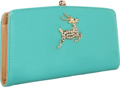 Cocktail Casual Green  Clutch