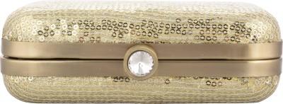 Arisha kreation Co Casual Gold  Clutch