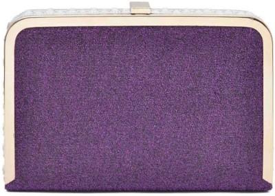 Hawai Women Casual, Formal Purple  Clutch