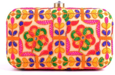 Hoppingstreet Multicolor  Clutch
