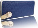 Samco Fas Women Blue  Clutch