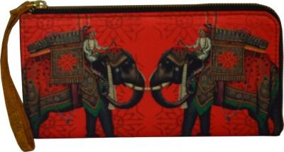 Regno Indea Casual, Formal, Festive Red  Clutch