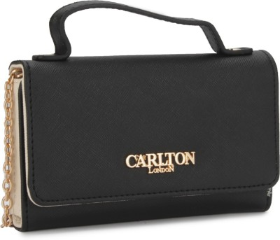 Carlton London Women White, Black  Clutch