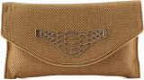 Heaven Deal Women Casual Tan  Clutch