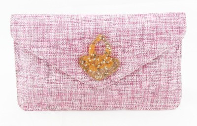 Sushito Women Party Pink  Clutch