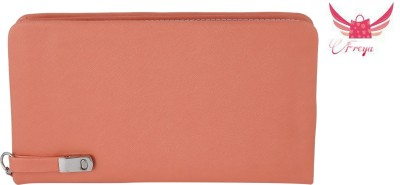 Freya Casual, Wedding, Festive, Party, Sports Orange  Clutch