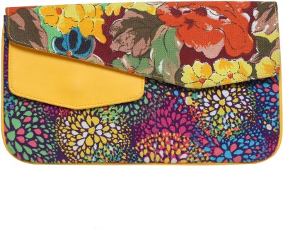 Anekaant Women Casual Multicolor  Clutch