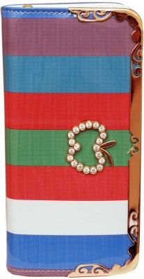 Prime Casual Multicolor  Clutch