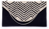 Diwaah Women Party Black  Clutch