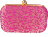 Posh Girls Casual Yellow, Pink  Clutch