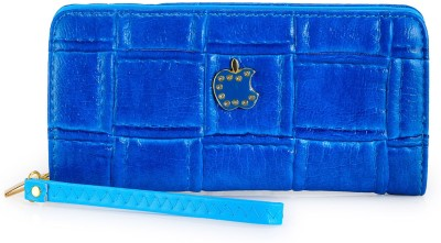 Frosty Fashion Women Casual, Party Blue  Clutch