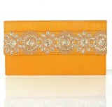 Cartera Women Yellow  Clutch