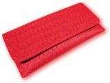 Zamzam Creations Women Casual Red  Clutc...