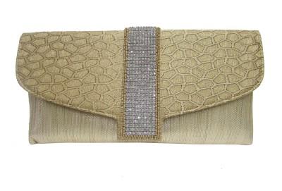 Balee Fashions Women Party Gold  Clutch