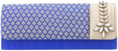 Craftbazaar Blue  Clutch