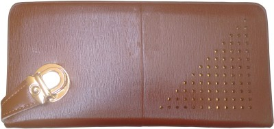 Ud Creation Formal, Casual, Sports Tan  Clutch