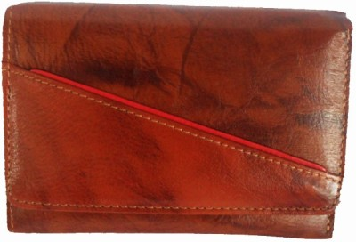 Sheela's Arts&Crafts Brown  Clutch