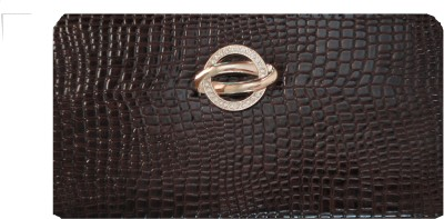 Kmu Traders Casual, Party, Formal, Festive Brown  Clutch