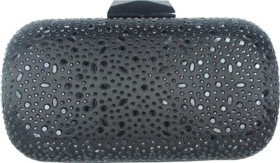 Shoebox Women Party Black  Clutch