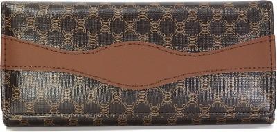 Fab Fashion Brown  Clutch