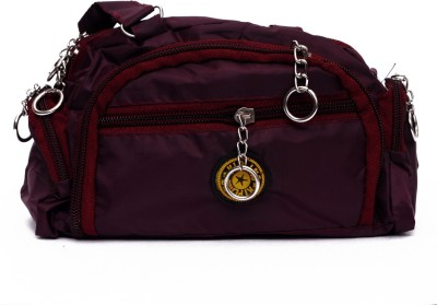 YOURS LUGGAGE Casual, Wedding, Festive, Sports, Formal, Party Maroon  Clutch
