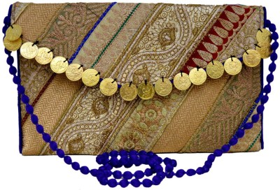 Amazing India Party Multicolor  Clutch