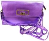 Laviva Women Purple  Clutch
