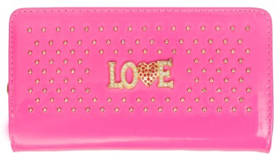Louise Belgium Girls Casual Pink  Clutch