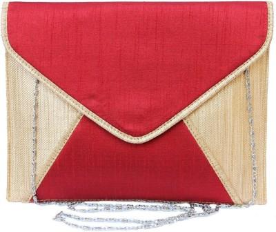 Craftbazaar Red  Clutch