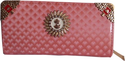 Quality Mart Pink  Clutch