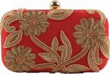 Uptown Women Red  Clutch