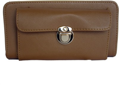 OneLook Casual, Festive, Formal, Wedding Tan  Clutch