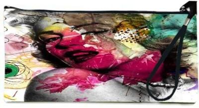 Snoogg Women Casual Multicolor  Clutch