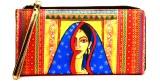 Adaa Women Casual Multicolor  Clutch
