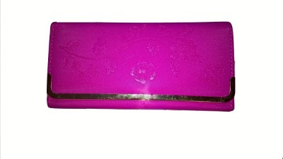 Aabha Stores Casual Pink  Clutch