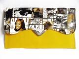 Treasure Women Casual Yellow  Clutch
