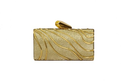 Designish Party Gold  Clutch