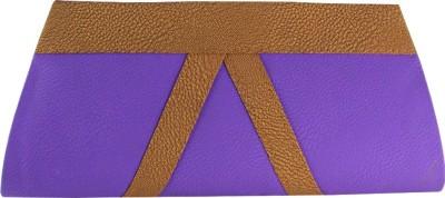 Deeon Women Formal Purple  Clutch