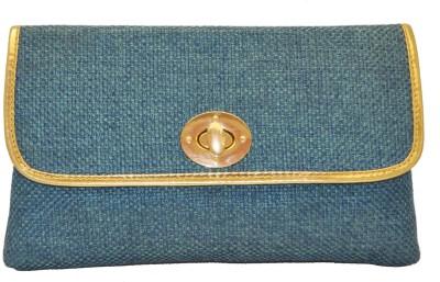 Women Trendz Festive Blue  Clutch